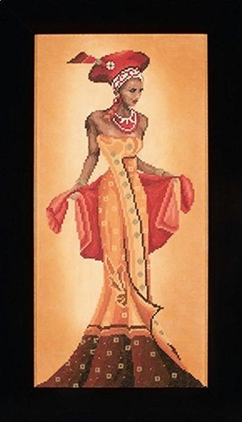 Modă africană - I