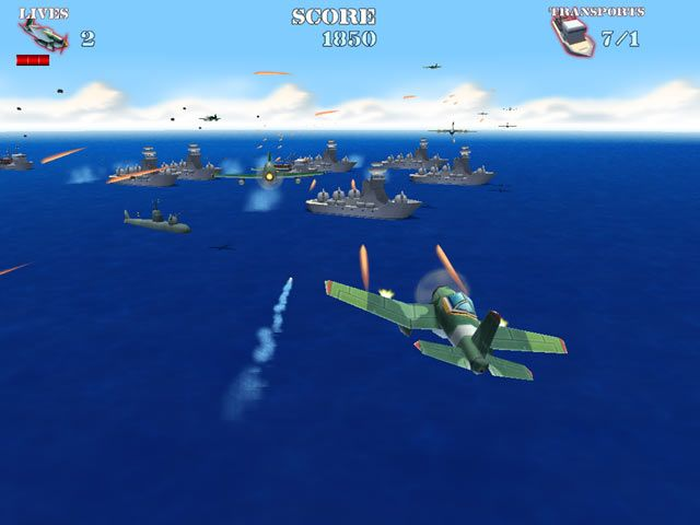 Now it is up to you, brave soldier, to man the heavy gunnery and save the world from imminent destruction and chaos. Piloting an experimental U.S. Navy torpedo bomber you have all the artillery you could ever need to take out Hitler and his Nazi storm troopers. - See more at: http://freegamemoviesanime.blogspot.com/2014/06/naval-strike.html#sthash.j8eJgELc.dpuf
