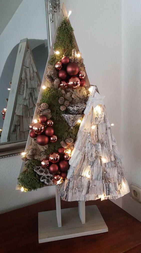 Cool DIY Christmas tree ideas. | handmadness.com / …