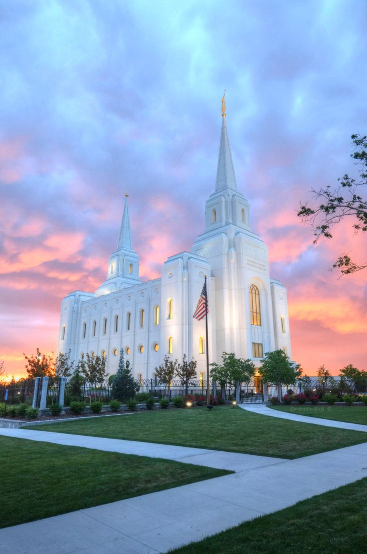 Brigham City Temple Evening by Fittoframephotos on Etsy https://www.etsy.com/listing/268300942/brigham-city-temple-evening