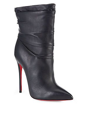 christian louboutin guerilla spiked ankle boots