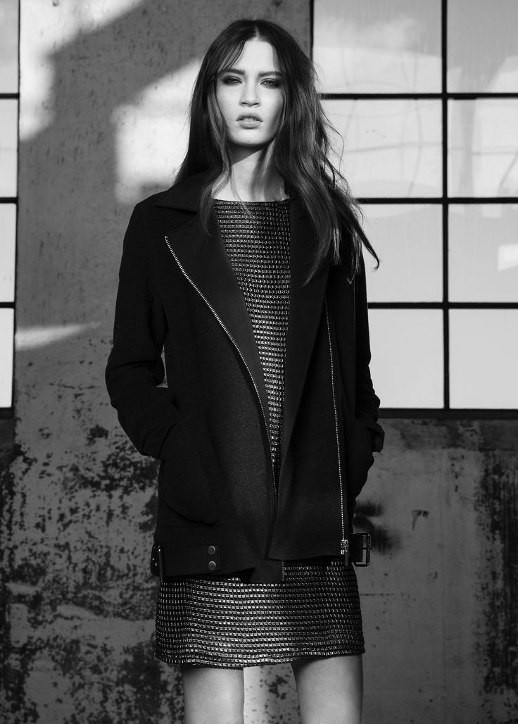 Ora coat & Devana dress #Ora #coat #Devana #dress #AW14 #Lookbook #SuperTrash