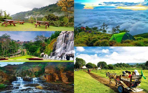 11 Tempat Wisata Alam Bandung Terbaru 2020 Yang Populer Di 2020 Tempat Pemandangan Matahari Terbit