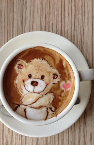 Latte Art. So Fluffy *:*