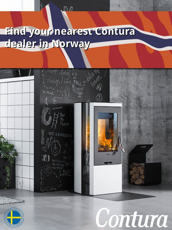 "Find your nearest Contura stove dealer in Norway. Click on the ""website"" button above to reach the map."