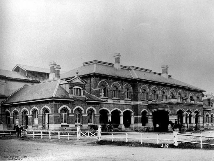 1888 Brisbane Roma St Railway Station
