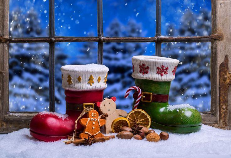 Świąteczne, Dekoracje, Buty