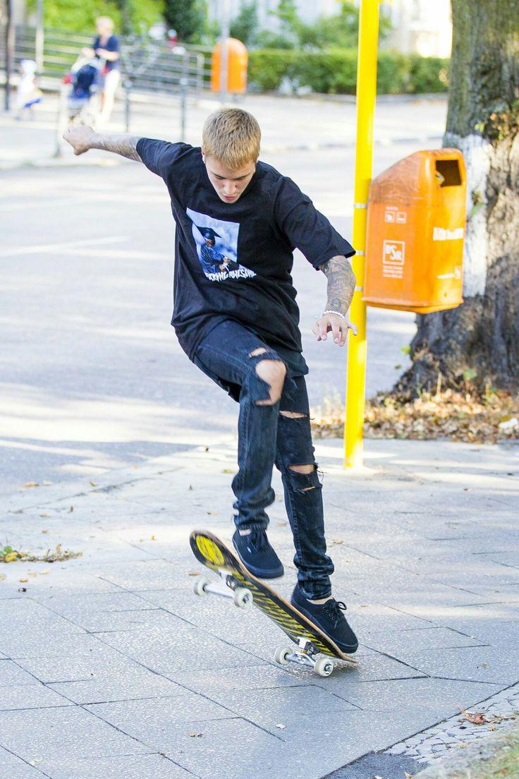 Skateboarder...