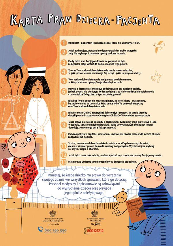 Czy znasz już Kartę Praw Dziecka-Pacjenta?