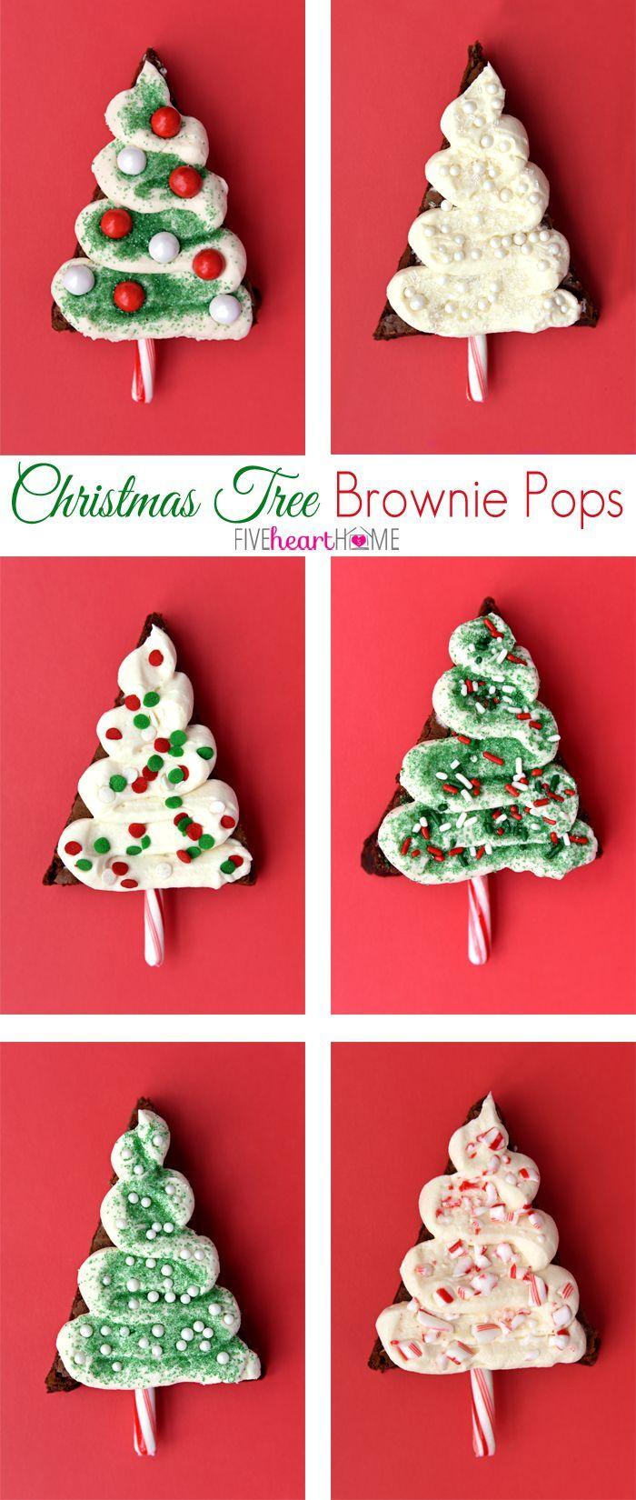 ... Brownies on Pinterest | Brownie Pops, Christmas Brownies and Brownies