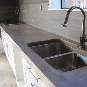 best 25 concrete countertops bathroom ideas on pinterest. Black Bedroom Furniture Sets. Home Design Ideas