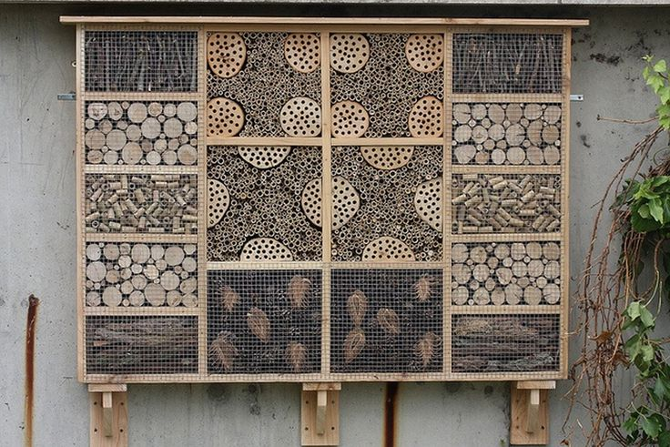 Hand made in Dorset. This is the bug box (or insect hotel) I was commissioned to make for display at the National Archives at Kew. You can see the stages in the building of this 5' x 3' beast at my website. www.carlscreaturecomforts.com/