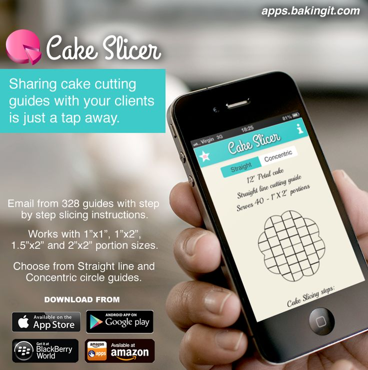Cake Slicer - Comprehensive Cake Cutting App.