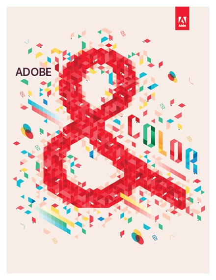 Adobe Color - an illustration promoting the launch of the new Adobe Creative Suite 5.5 Design Standard | Designer: Lab-Partners - http://www.lp-sf.com