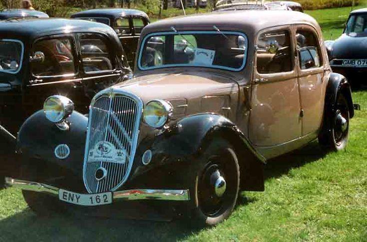 Citroen 1934 - シトロエン・トラクシオン・アバン - Wikipedia