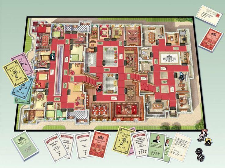 Downton Abbey board game