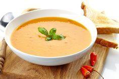 Une découverte étonnante : Soupe de Chou-fleur et poivrons rouges rôtis