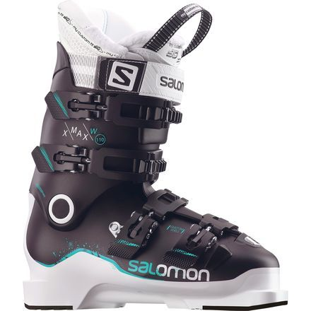 Your Salomon Women's X Max 110 Ski Boots are exactly what you'll want on your feet on any given day of the season—crushing the steeps, cruising groomers, or shredding bumpsare just a few things the X Max does best.