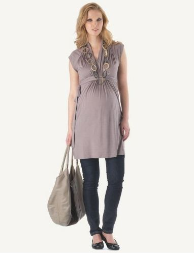 Maternity clothing is more than just comfortable, loose-fitting dresses. Several brands offer a complete line of clothing for women including tops, blouses, cardigans, and jeans. Many of these maternity items are also available in modified versions if you are nursing and want to wear comfortable clothing that makes breastfeeding easier.
