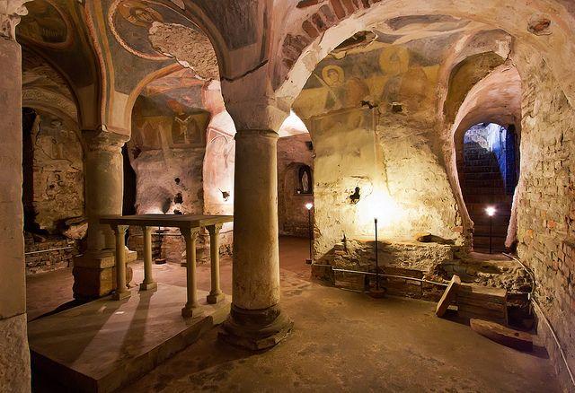 Cripta di S Giovanni Domnarum by Carlo Danese, via Flickr
