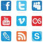 """Desgarga gratis los mejores iconos de redes sociales vectores. Iconos de redes sociales vectores, redes sociales españolas, redes sociales gratuitas, redes sociales para conocer gente o redes sociales gratis y más iconos"""""""