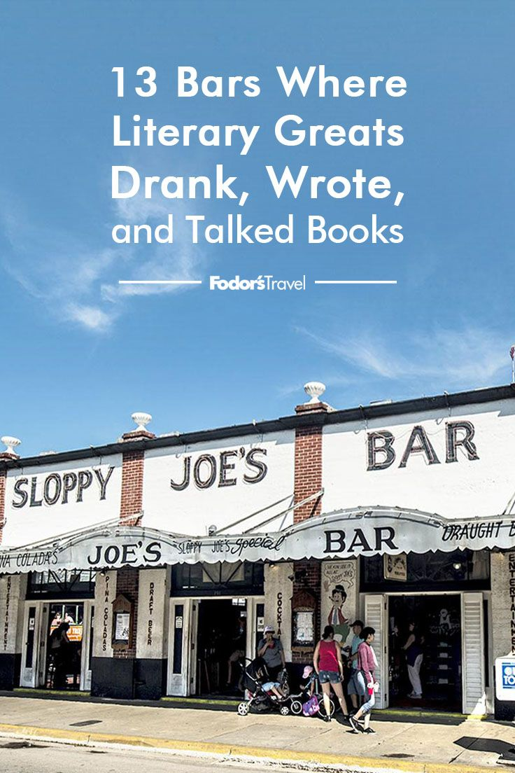 Happy Hour Places Near Me 13 Bars Where Writers Authors And Literary Greats Drank Wrote
