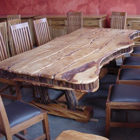 Custom Made Dining Table 10 Seat Yellowood , Sneezewood