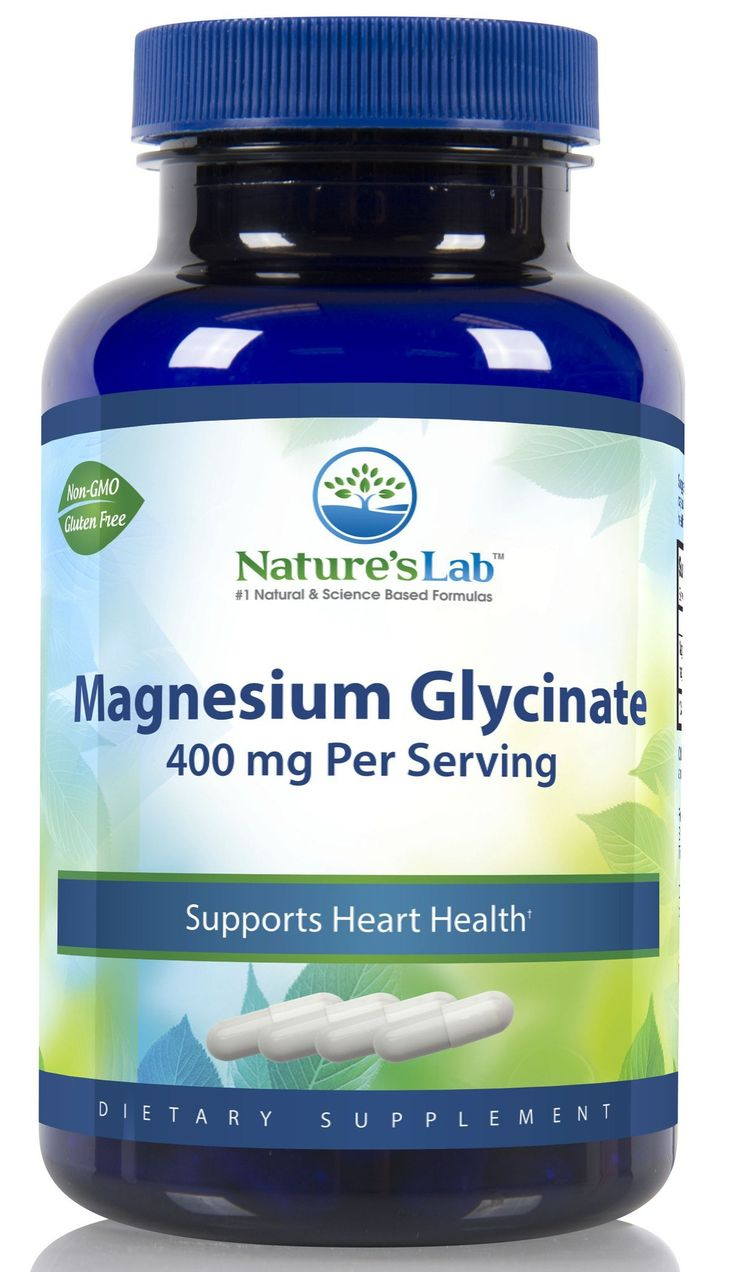 Nature's Lab Magnesium Glycinate - 120 Capsules