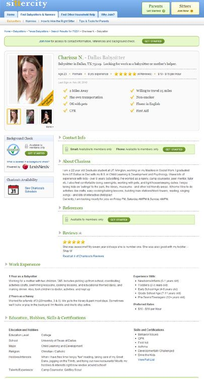 Sittercity Review Can This Sitter Service Help You With