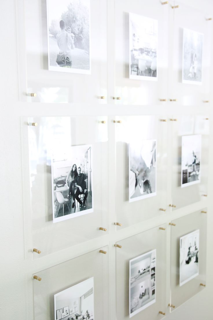 A Modern, Kid-Friendly, Family Gallery Wall in the Dining Room - Chris Loves Julia