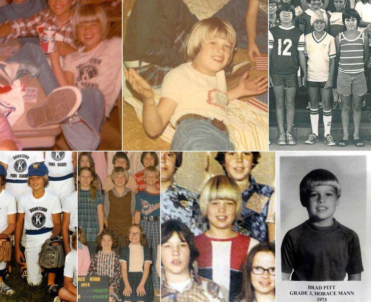 Brad Pitt   Rare, weird & awesome celebrity photos