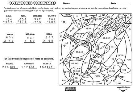 ejercicios de multiplicacion y division con dibujos - Buscar con Google