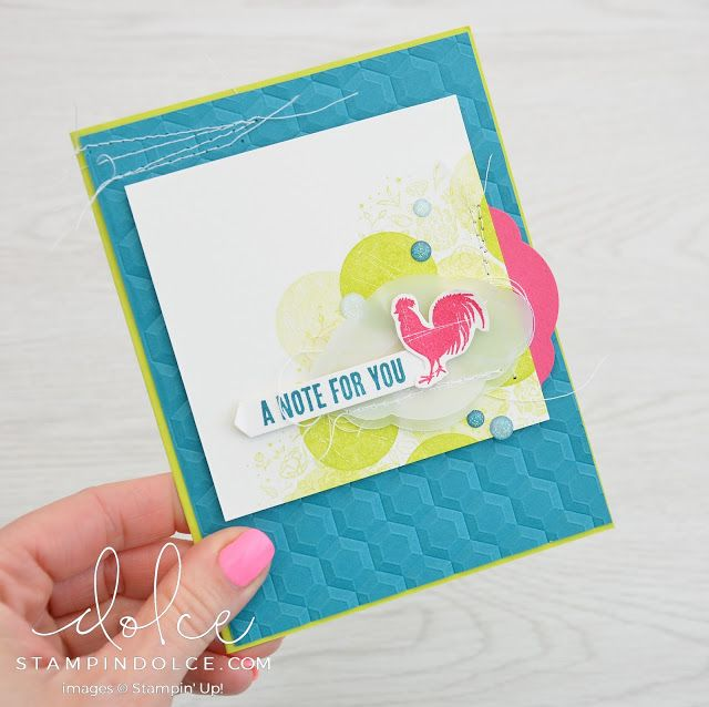Stampin' Dolce: New lemon lime twist from stampin' up!  - Fancy Friday Blog Hop