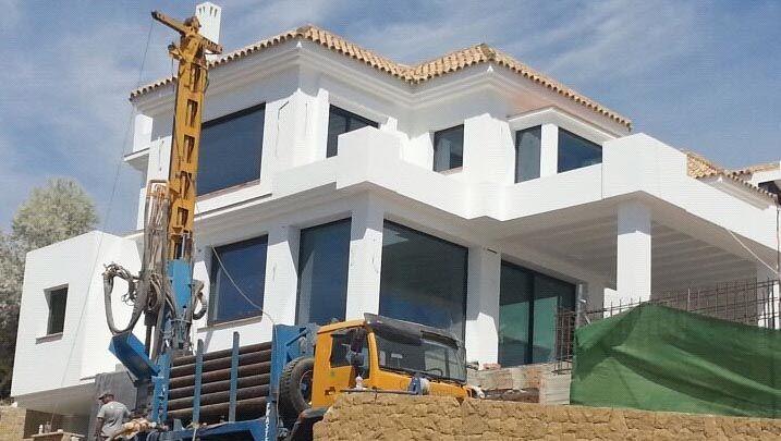 Vivienda en Málaga climatizada con geotermia por Geointegral http://www.geointegral.es/index.php/geotermia-residencial