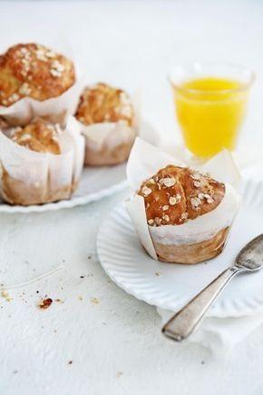 Eiwitrijk ontbijt: havermoutmuffins goed voor de spieropbouw