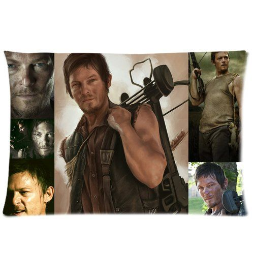 Daryl Dixon Fan's this one if for you, who wouldn't want to cuddle up to a Custom Daryl Dixon's pillowcase? I thought so, who wouldn't right! This pillowcase is