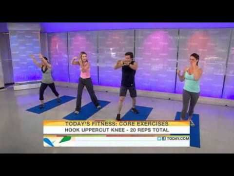 Tony Horton P90X Workout on 'Today Show' (Video)
