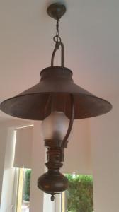 Mosiężna lampa holenderska z kapturem (6137832928) - Allegro.pl - Więcej niż aukcje.
