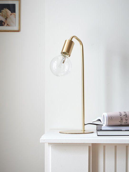 Lampe Arty en laiton Aménagement maison in 2018 Pinterest