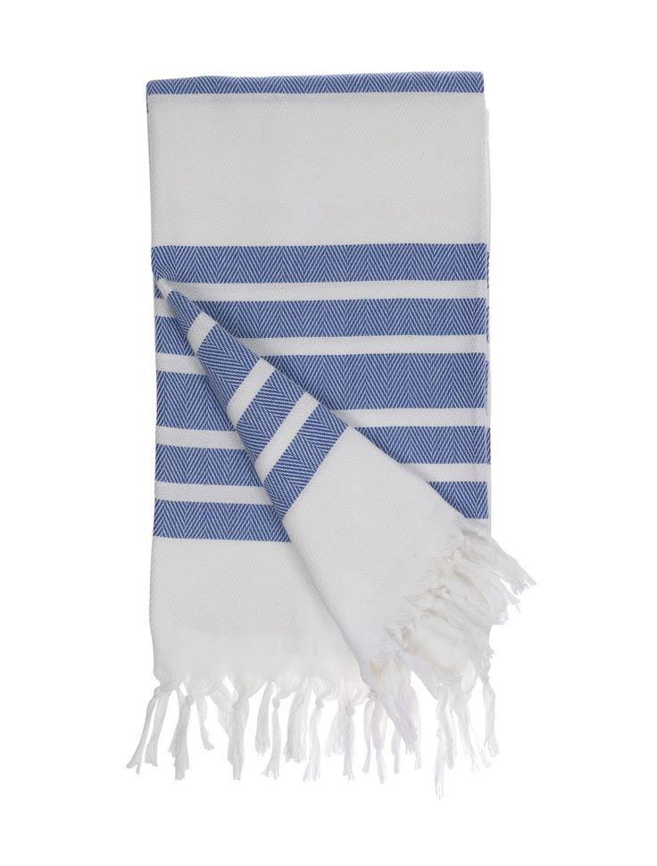Classic Striped Woven Towels | Ambhasaa
