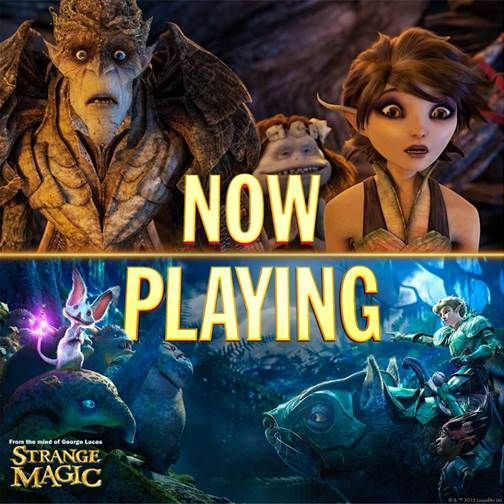 Powered by Momshares Disney Strange Magic George Lucas is giving us another amazing movie. We can't wait to go see it Strange Magic in the theater. The animation looks amazing and just from the preview you can tell that they have some fun and interesting...