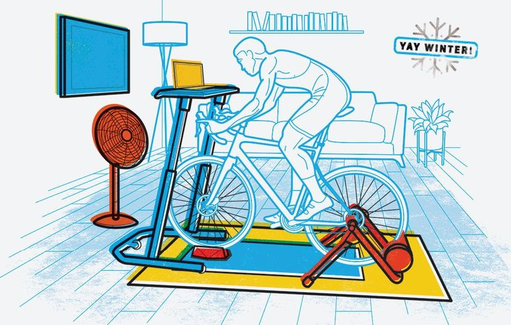 Besides a bike and a trainer or rollers, you're going to want a few key things when you post up in the pain cave