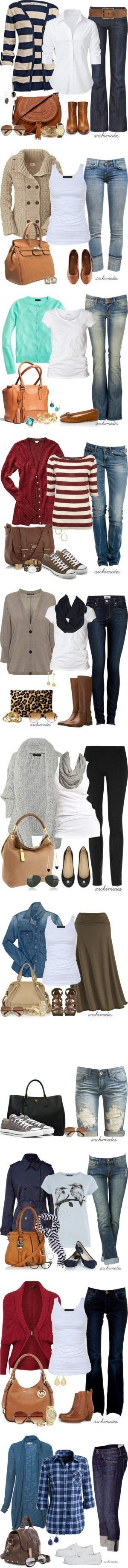 best Fashion images on Pinterest  Casual wear Cute outfits and
