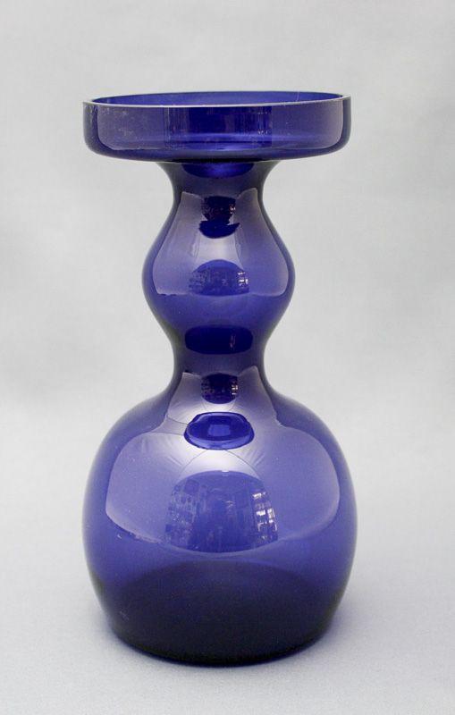 Glass vase, Oiva Toikka, Nuutajärvi