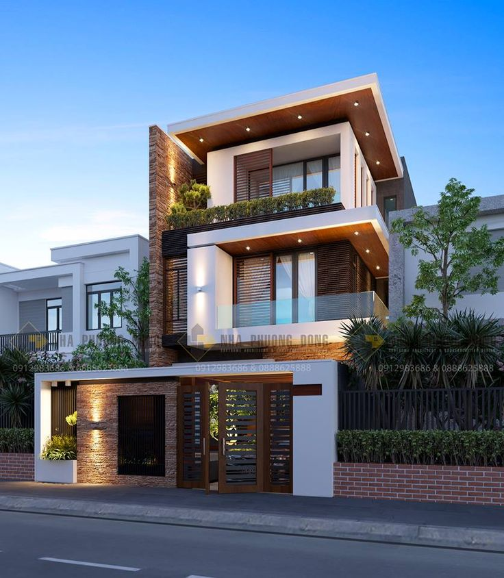 3330 best architecture design images on pinterest for Modern townhouse exterior