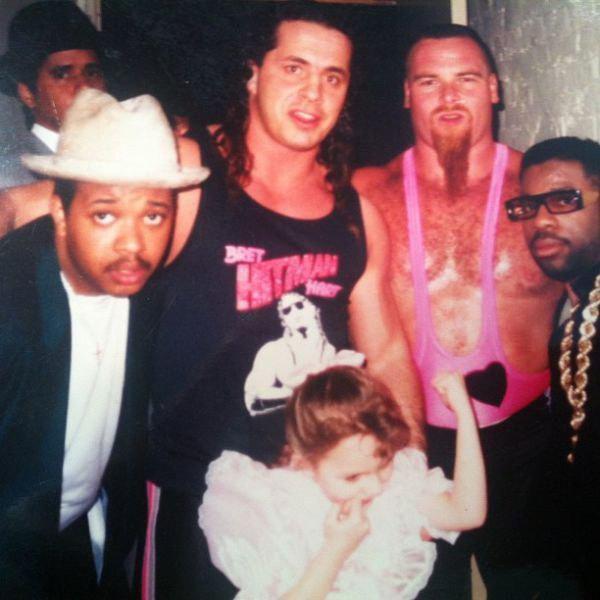 Brett Hart, Jim Neidhart & Run DMC | Hart Family | Jim ...