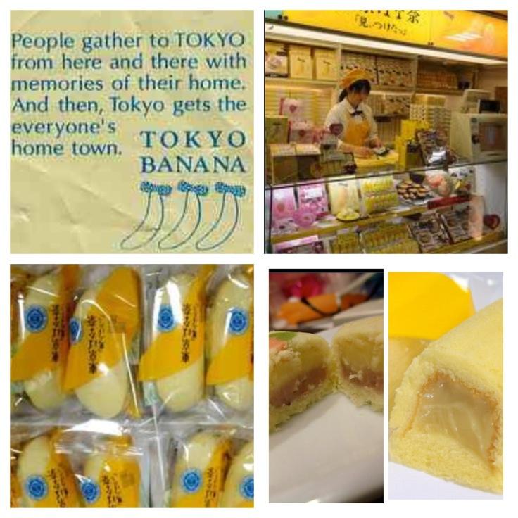 Tokyo Banana :) The Japanese Twinkie