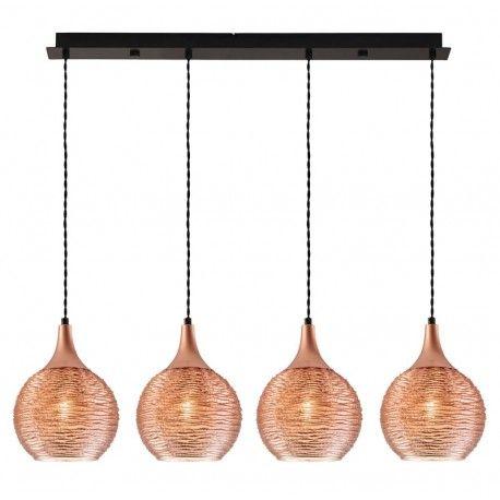 Φωτιστικο κρεμαστό σε ράγα με χάλκινες λεπτομέρειες! #bronze #bronzedetails #lighting #bronzelighting #luminaire #livingroom #decor #decoration #glass #style #modern #design #χάλκινο #φωτιστικό #viokef