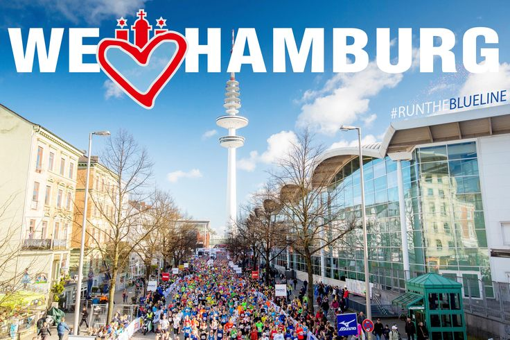 #welovehamburg #runtheblueline #haspamarathonhamburg2017