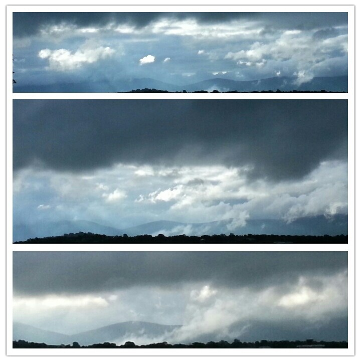 The ever changing skies of Ireland